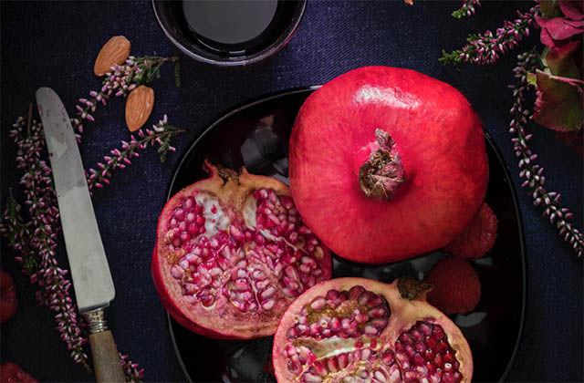 Il frutto giusto al momento giusto, l'autunno è la stagione della melagrana!