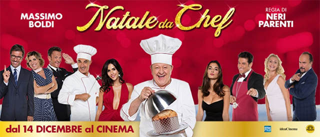 Fresco anche al cinema in Natale da Chef