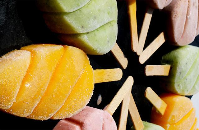 Ghiaccioli multicolor