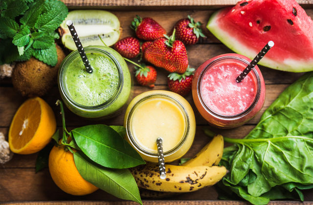 Gli smoothies dell'estate 2017