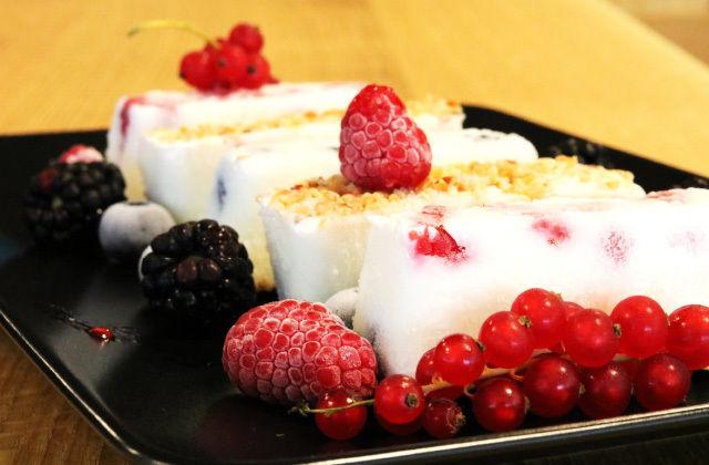 Frozen yogurt alla frutta